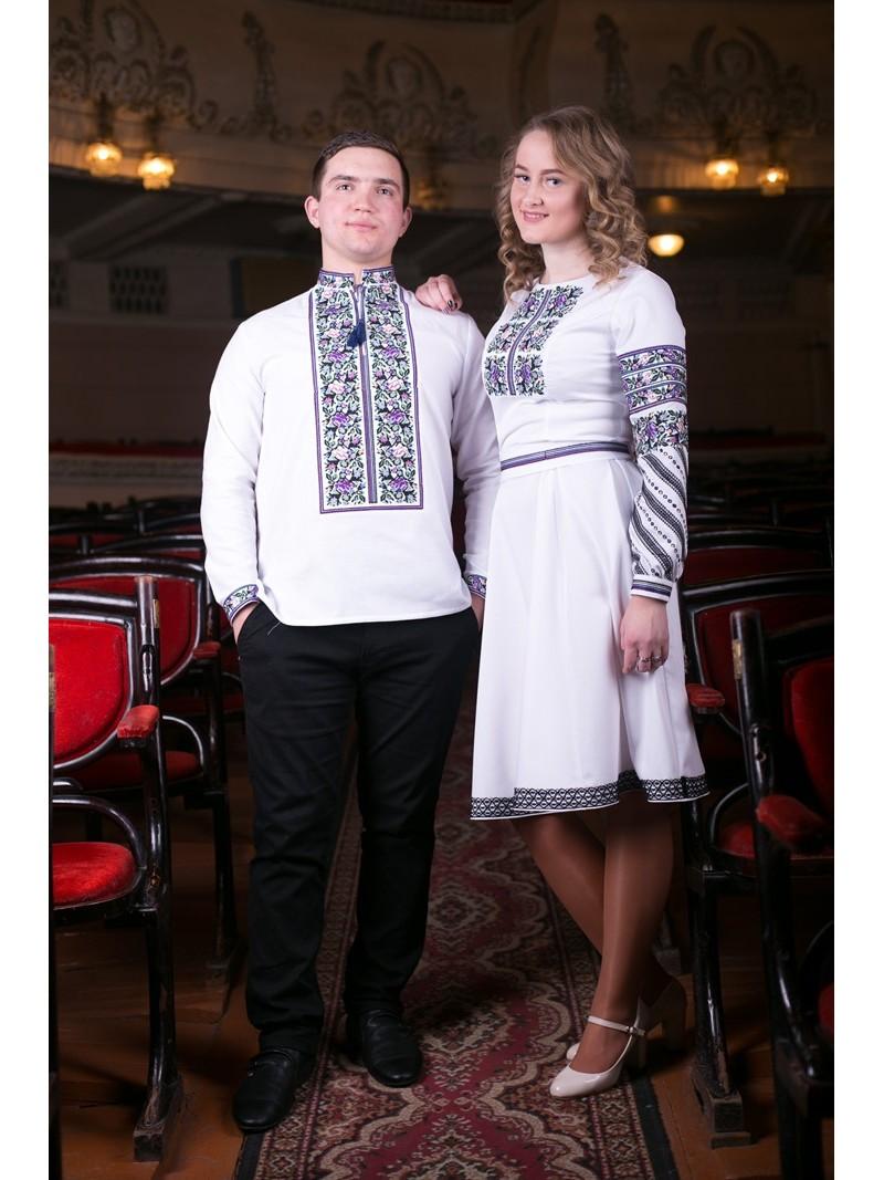 Парні вишиті вбрання Борщівські – купити в Києві a3ef33f09505c