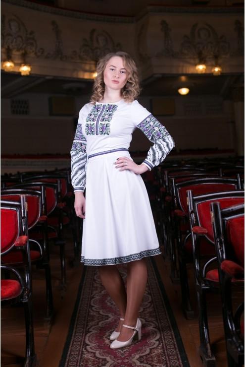 Плаття вишите Борщівське – купити в Києві 978a657b6692a