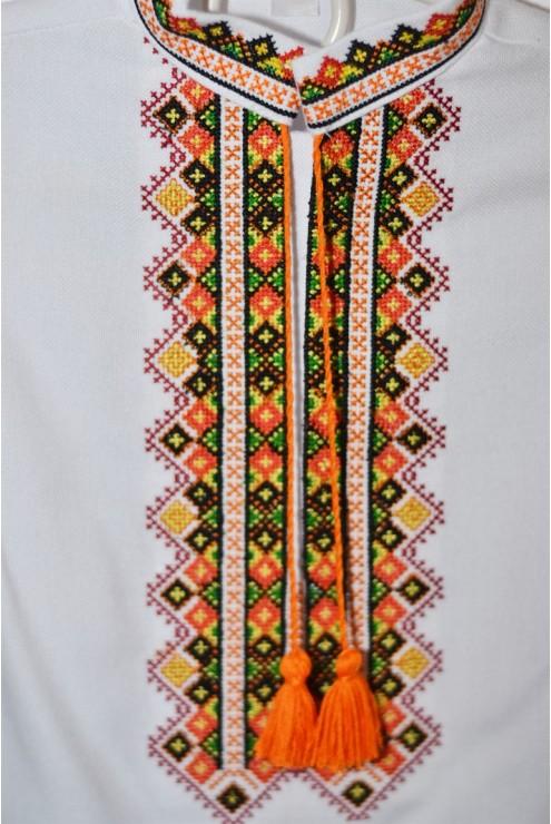 Сорочка вишита для хлопчика Гуцульська – купити в Києві 1e809bb7bc309