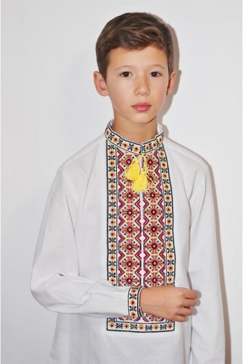 Українська вишита рубашка для хлопчика Святкова – купити в Києві ... 354743cc98aa8