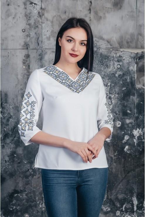 Блузка етнічна 05 фото