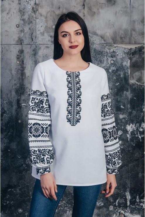 Блуза жіноча вишита 13 – купити в Києві adf1bd9bcd10b