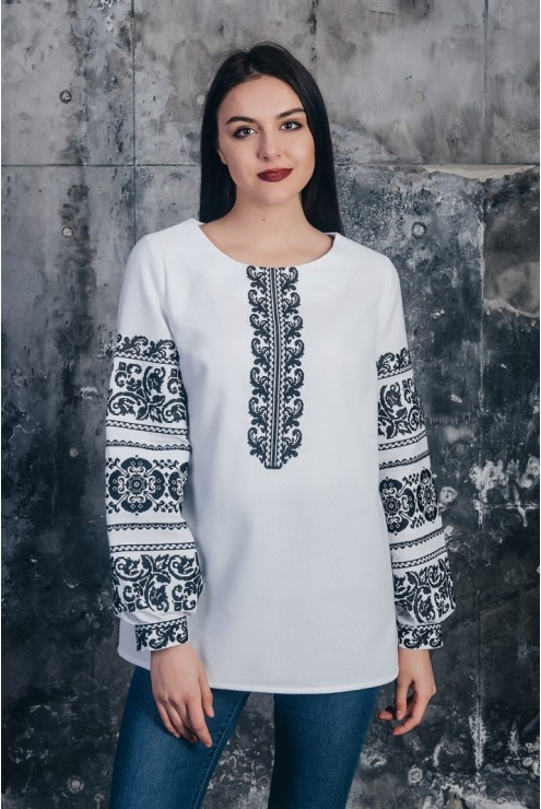 Блуза жіноча вишита 13 – купити в Києві c886ad438995c