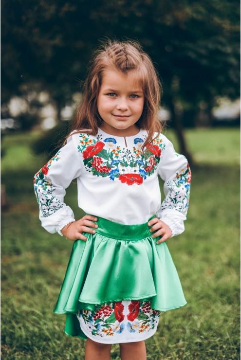 Комплект вишитого одягу для дівчинки 02 – купити в Києві 4837f69ff9dd7