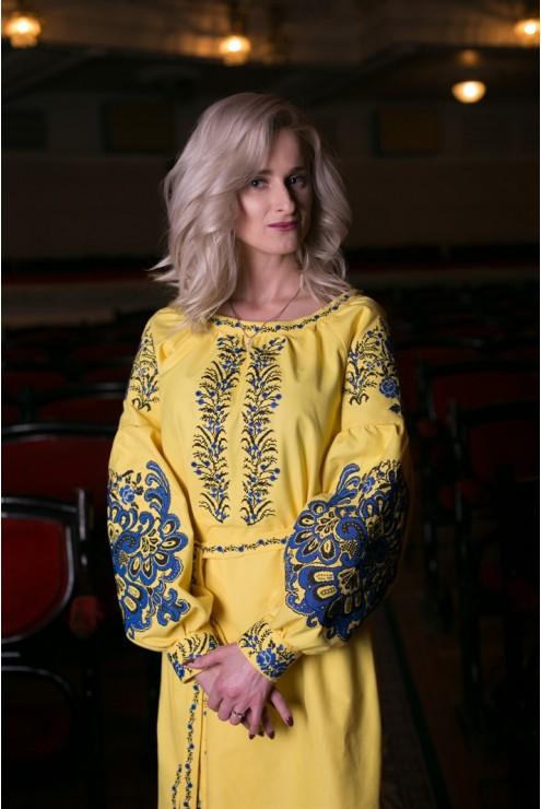 Сукня вишиванка Національна – купити в Києві 617c0b399e9d4