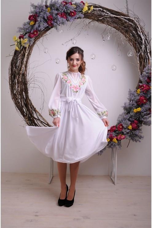 купити Моднее плаття в українському стилі 1806 ціна 51311acdf50a2
