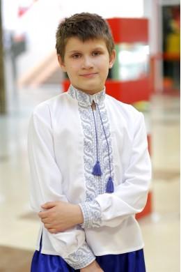 Сорочка українська вишита для хлопчика СХ 03 фото