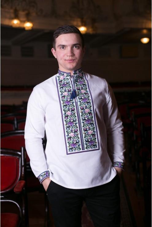 Чоловіча вишита сорочка Борщівська – купити в Києві 47b7f3b1e1126