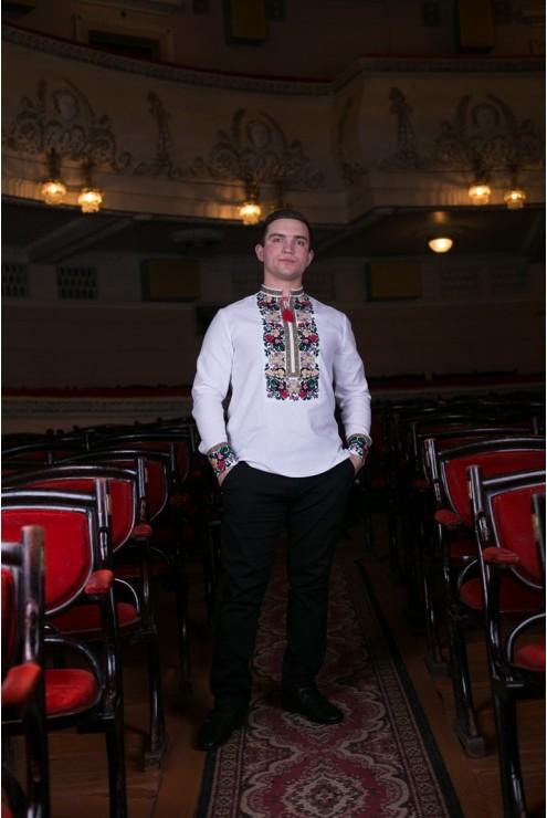 Вишита чоловіча сорочка Борщівська – купити в Києві c2eebee661062