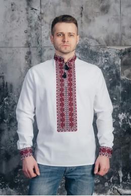 Мужская вышитая рубашка 03 фото