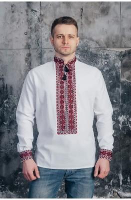 Мужская вышитая рубашка 03