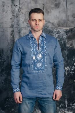 Мужская рубашка вышитая 04 фото