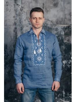 Мужская рубашка вышитая 04