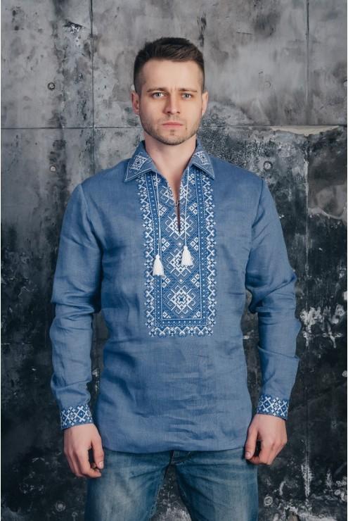 Чоловіча сорочка вишита 04 – купити в Києві c8756fddfd4f6
