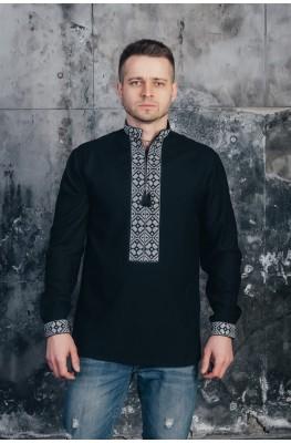 Вышитая рубашка мужская 06