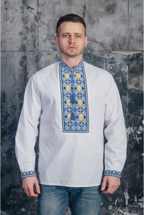Сорочка з вишивкою чоловіча 09 фото