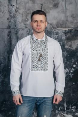 Рубашка мужская с вышивкой 10 фото