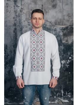 Мужская рубашка с вышивкой 11