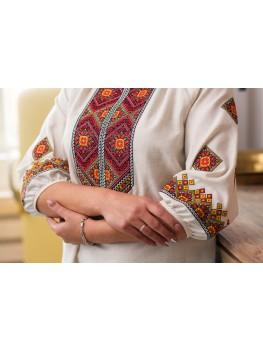 Українська сорочка - туніка для дівчаток і жінок 1802