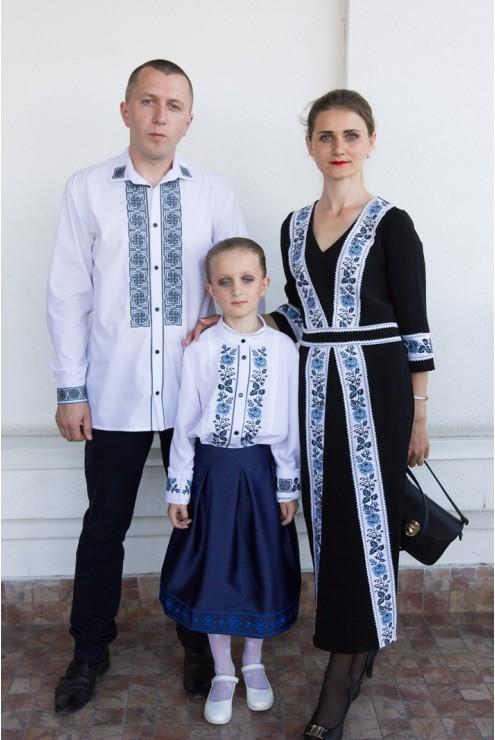 купити Family look вишитого набору одягу для сімї 1823 ціна 3b10d84fa3a65
