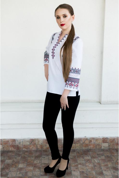 купити Стильна жіноча сорочка - вишиванка 1842 ціна dc04a23a32020