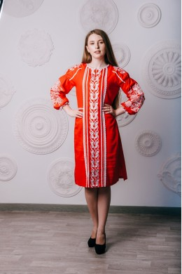 Жіночі вишиті плаття — купити в інтернет магазині вишиванок  eb2855826909d