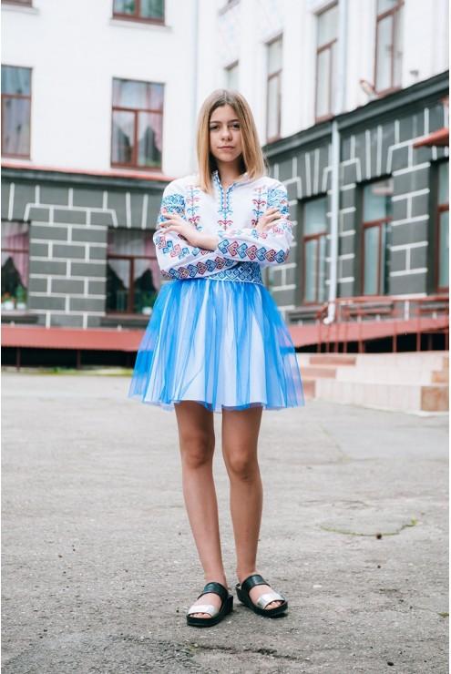 купити Набір шкільного одягу для дівчинки 1864 ціна 09f87e5766682
