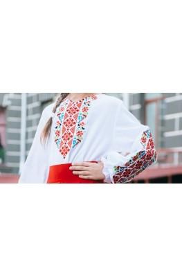 Блузка красива вишита для дівчинки 1865 d931f0463f872