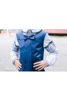 Дитячий сарафан з блузкою шкільна форма 1875 d5781ce805237