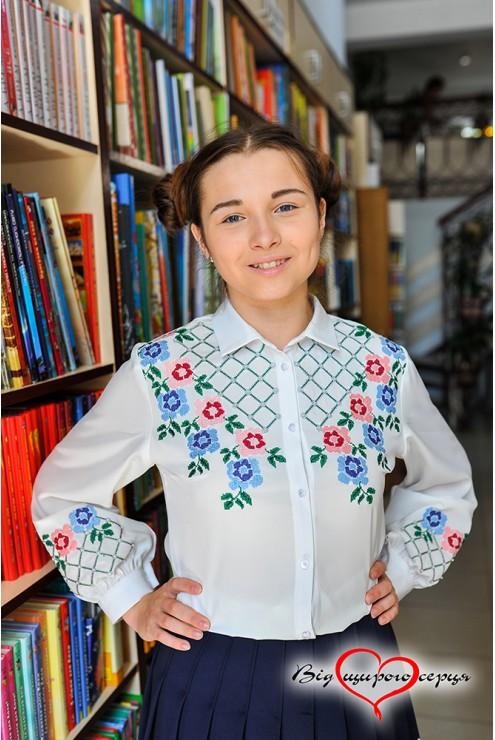Блузка підліткова1901