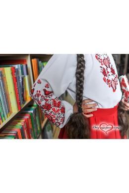 Шифонова вишиванка для дівчинки 1907