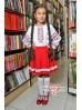 Червона спідничка-кльош дівчача1908