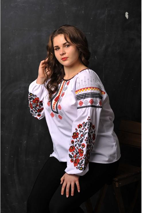 Вишита блузка жіноча 1910