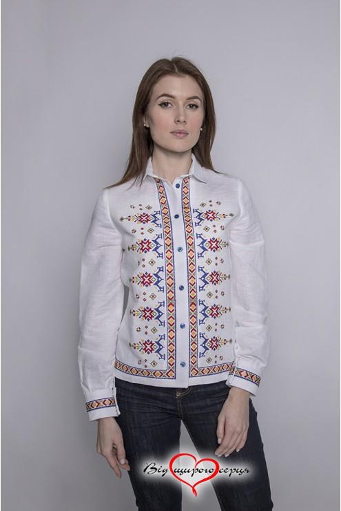 Блуза піджак з вишивкою 1941