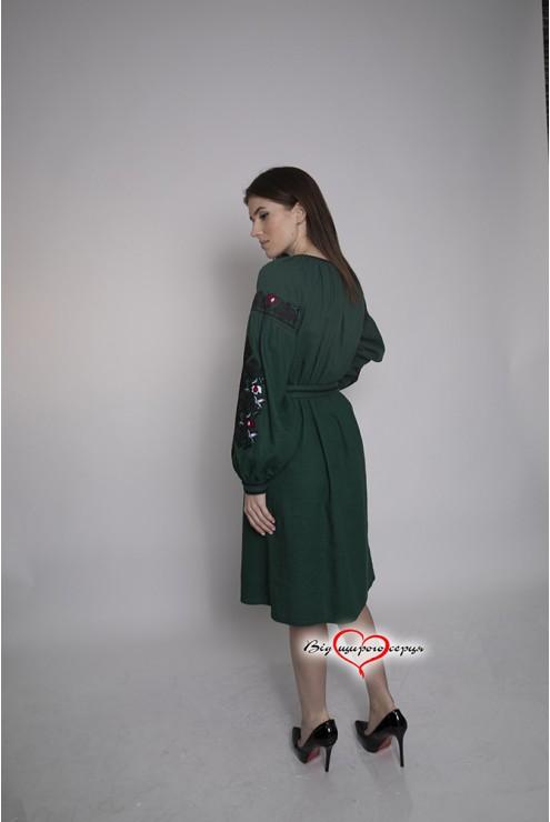 Плаття-вишиванка строге 1953