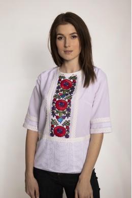 Блуза-вишиванка шовкова мальованка 1957