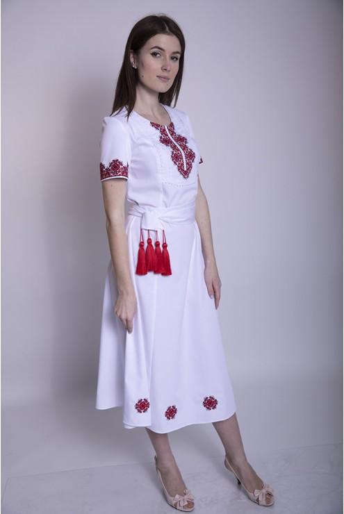 Плаття вишите яскраве 1965