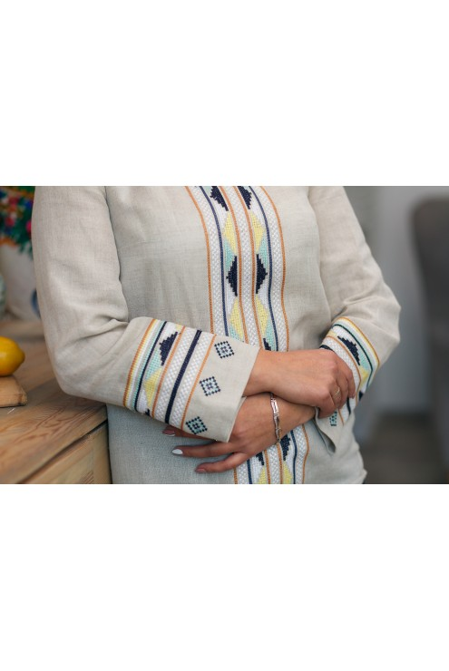 Блузка сіра вишита 2007