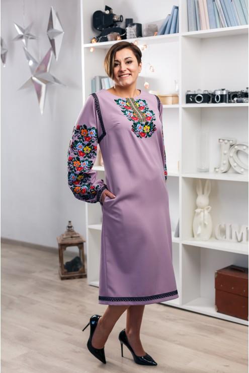 Парний вишитий набір з плаття та сорочки 2001