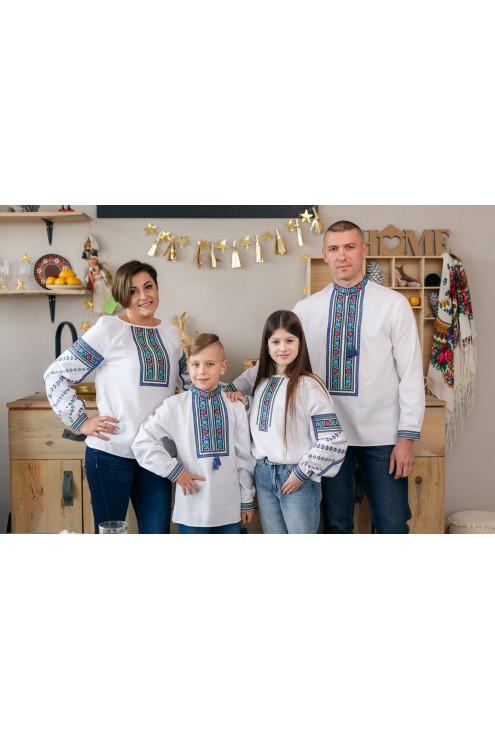 Сімейні бощівські вишиванки 2002
