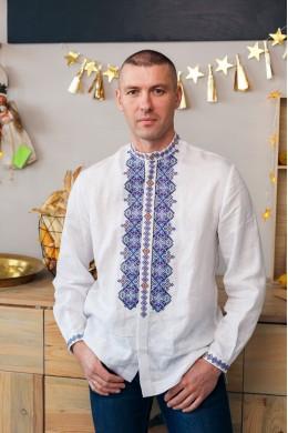 Чоловіча вишита сорочка на гудзиках 2003