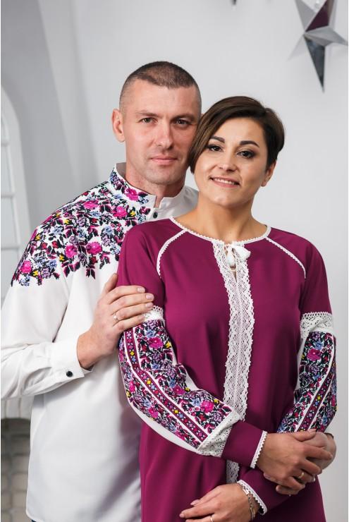 Сукня та сорочка вишиті для чоловка та жінки 2005