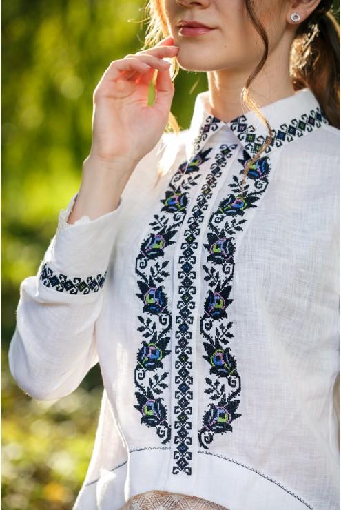 Блуза вишита 2091 фото
