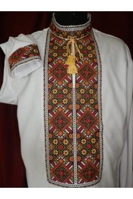 Национальная мужская рубашка 041 фото