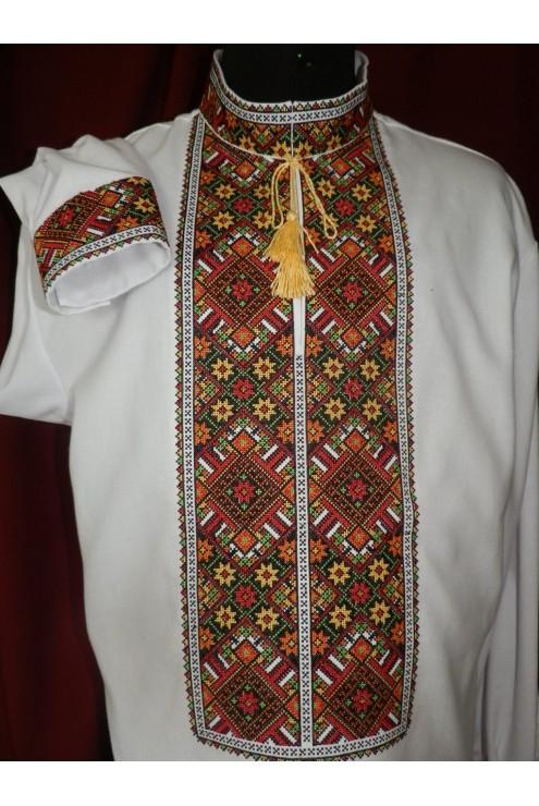 Національна чоловіча сорочка 041 фото