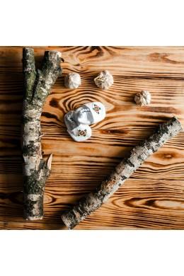 Вишиті чопики для хрещення ХК 08 фото