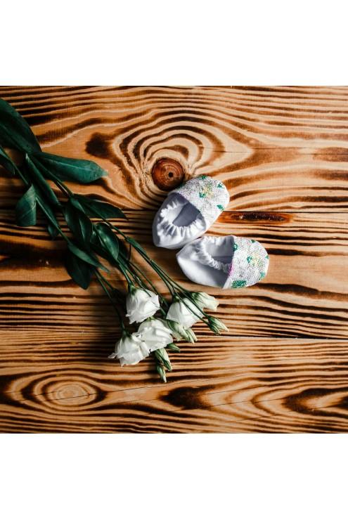 Крестильные пинетки ХП 04 фото