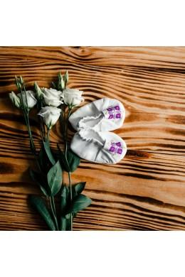 Чепики вышитые для крещения ХП 05 фото