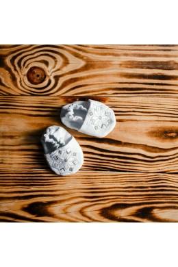Пинетки для крещения вышитые ХП 08 л фото