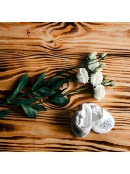 Чопики з вишивкою для хрещення ХП 11 с